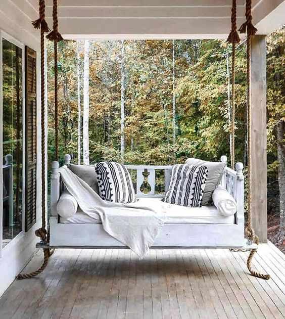 Wooden Swing Design