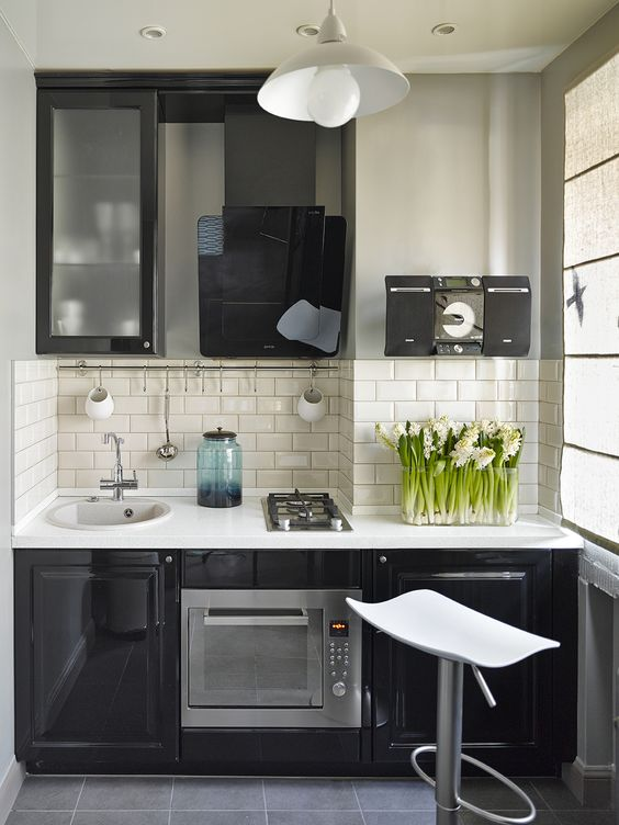 17 Fascinating Big Ideas For Decorating Super Small Kitchens on Small Space:fn118Lomvuk= Small Kitchen Ideas  id=21882