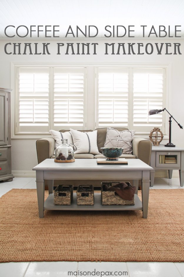 15 Fabulous DIY Chalk Paint Ideas For Your Furniture