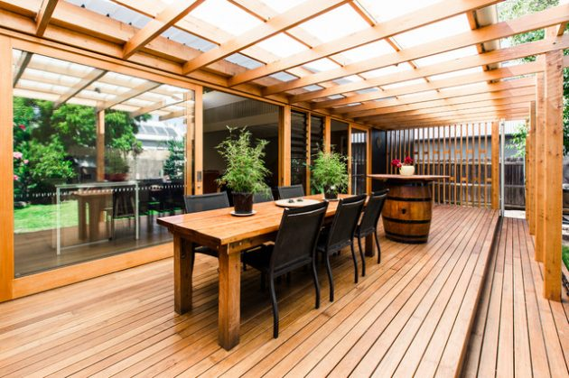15 Bespoke Contemporary Deck Designs To Improve Your Backyard on Wood Deck Ideas For Backyard  id=87805