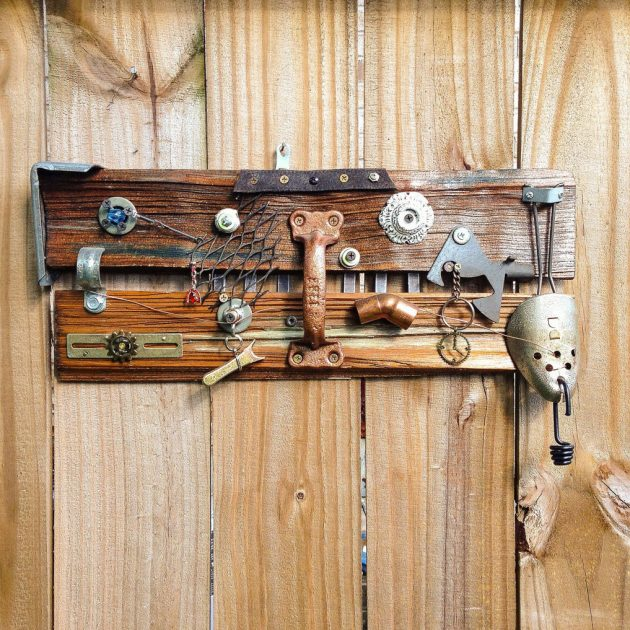 15 Truly Creative Handmade Wood Wall Art Ideas That You ... on Creative:kqmwrvdqiag= Wall Art Ideas  id=12747