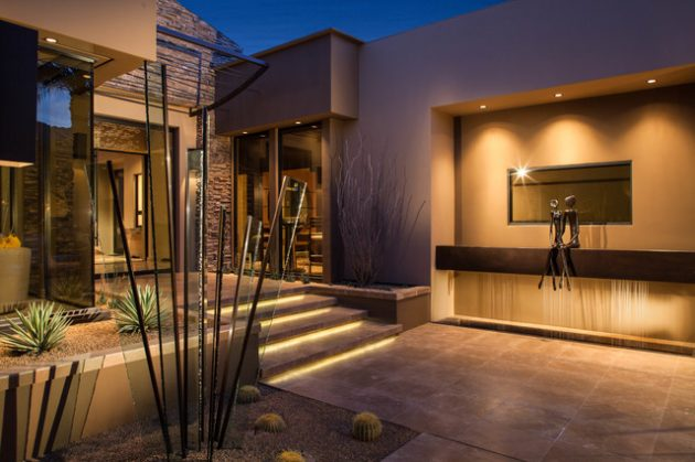 16 Fascinating Contemporary Entrance Designs That Will ... on Modern Entrance Design  id=44532