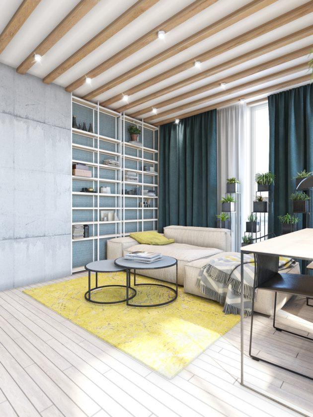 Contemporary Eco Design Apartment In Kyiv Ukraine