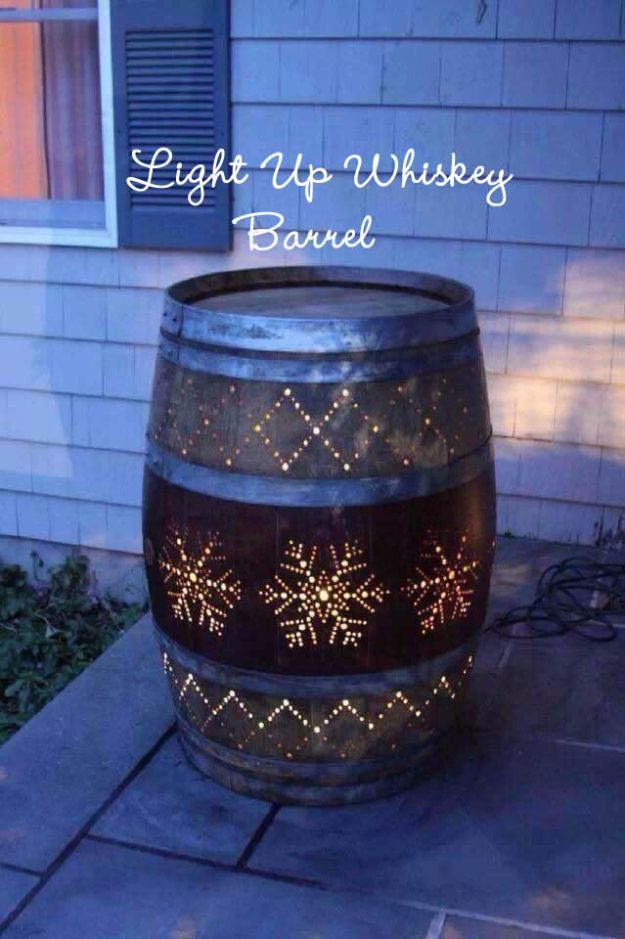 15 Ingenious DIY Projects From Old Wine Barrels For A