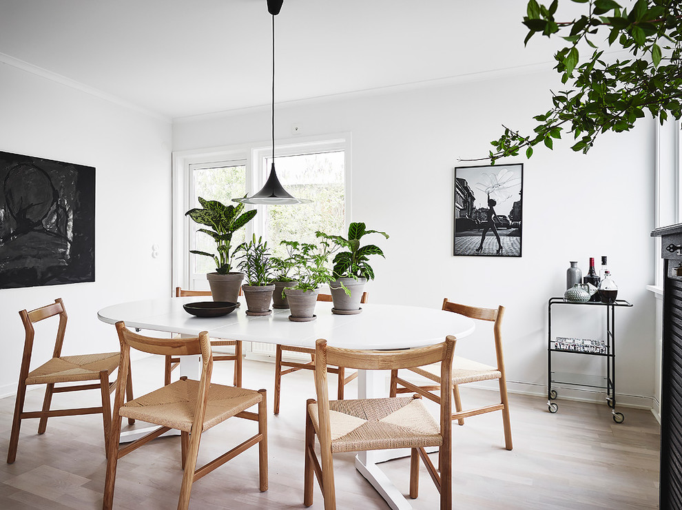 18 elegant scandinavian dining room designs that will on dining room inspiration id=14879
