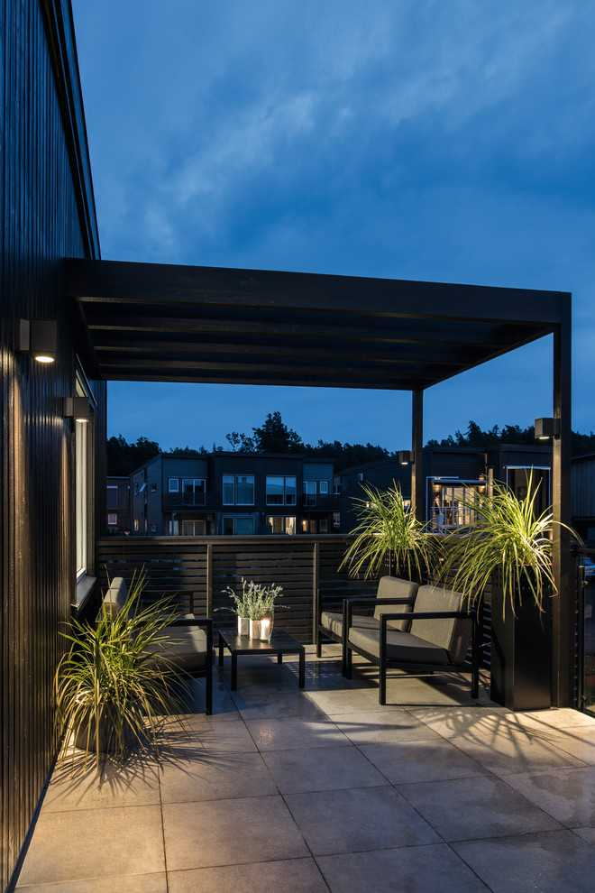17 Simple Yet Beautiful Scandinavian Deck Designs For Your ... on Simple Back Deck Ideas id=62525