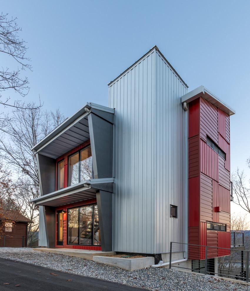 17 Tremendous Industrial Home Exterior Designs Youve