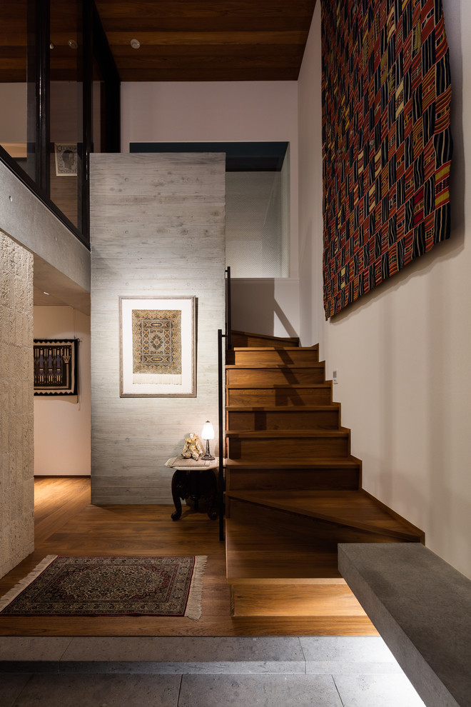 18 Stunning Asian Staircase Designs That Shape The Space