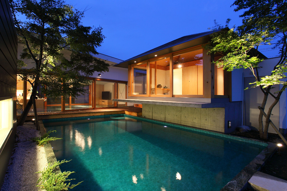 18 Absolutely Stunning Asian Swimming Pool Designs That