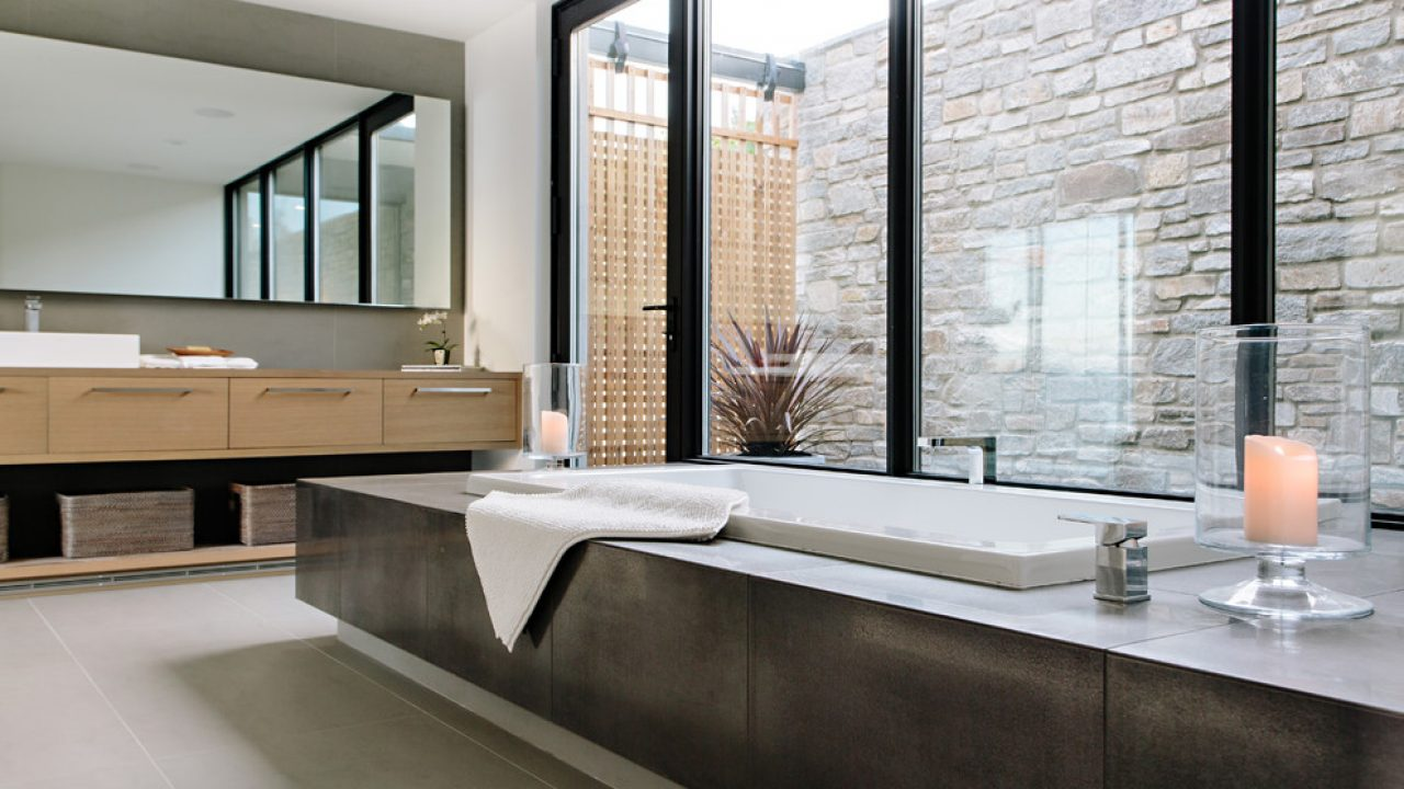 18 Sleek Modern Bathroom Designs You Ll Fall In Love With