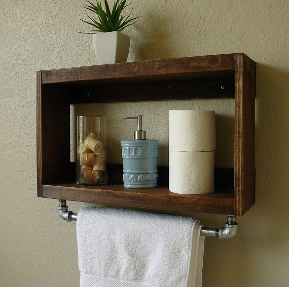 Bathroom Tiered Shelving