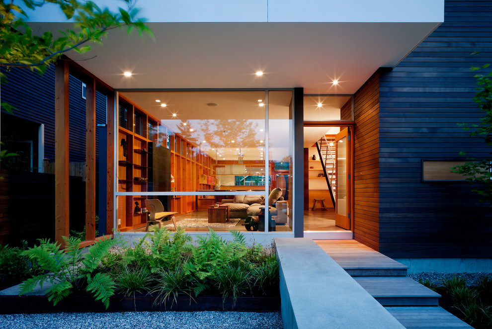 17 Appealing Modern Entrance Designs That Will Tempt You on Modern Entrance Design  id=68823