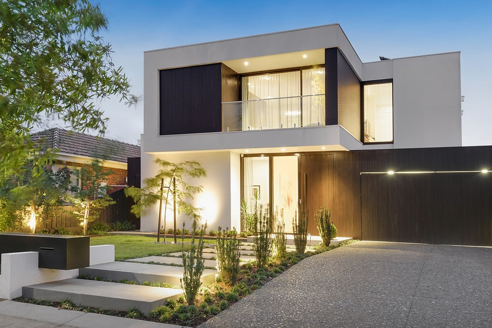 20 Remarkable Modern Home Exterior Designs That Will Steal ... on Modern House Ideas  id=81295