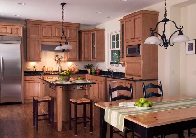 7 Luxurious Craftsman Inspired Kitchen Designs