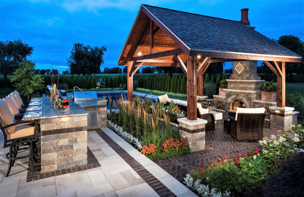 15 Incredible Rustic Patio Designs That Make The Backyard ... on Backyard Yard Design  id=99548