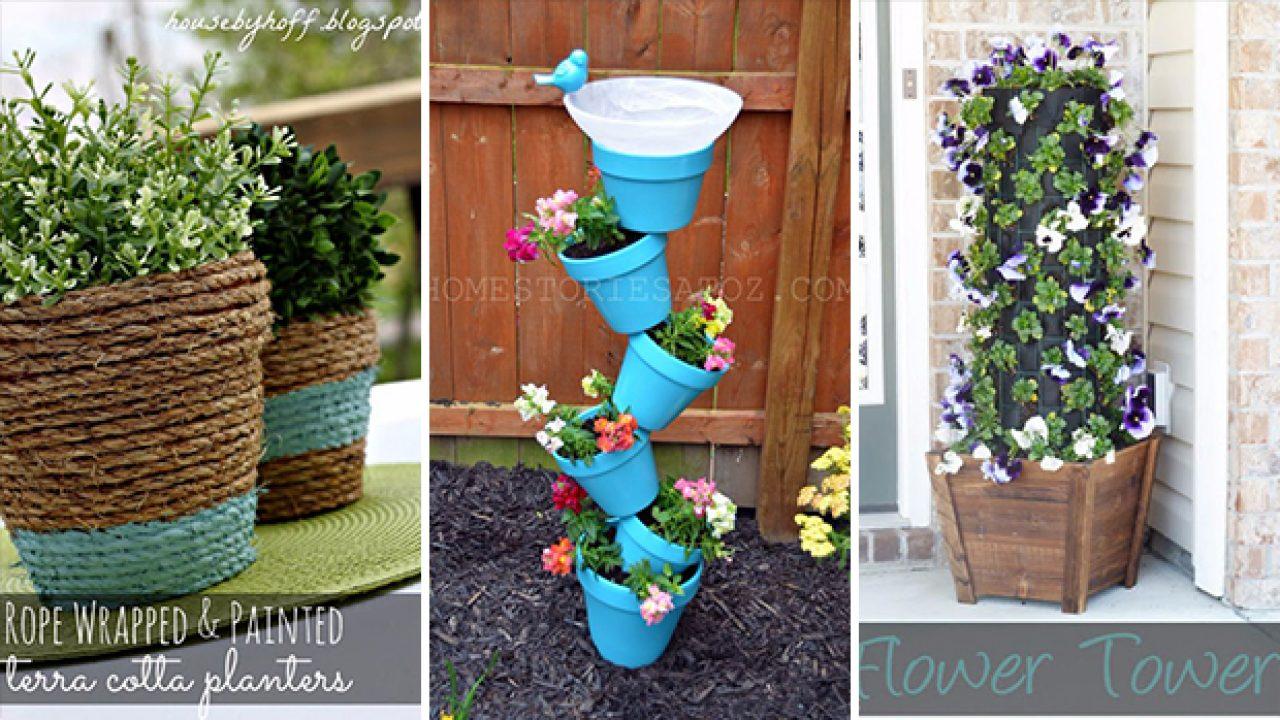 16 fantastic diy planter ideas that