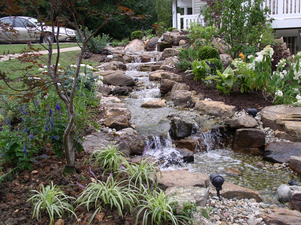 15 Stunning Tropical Landscape Designs That Know How To ... on Backyard Stream Ideas id=48489
