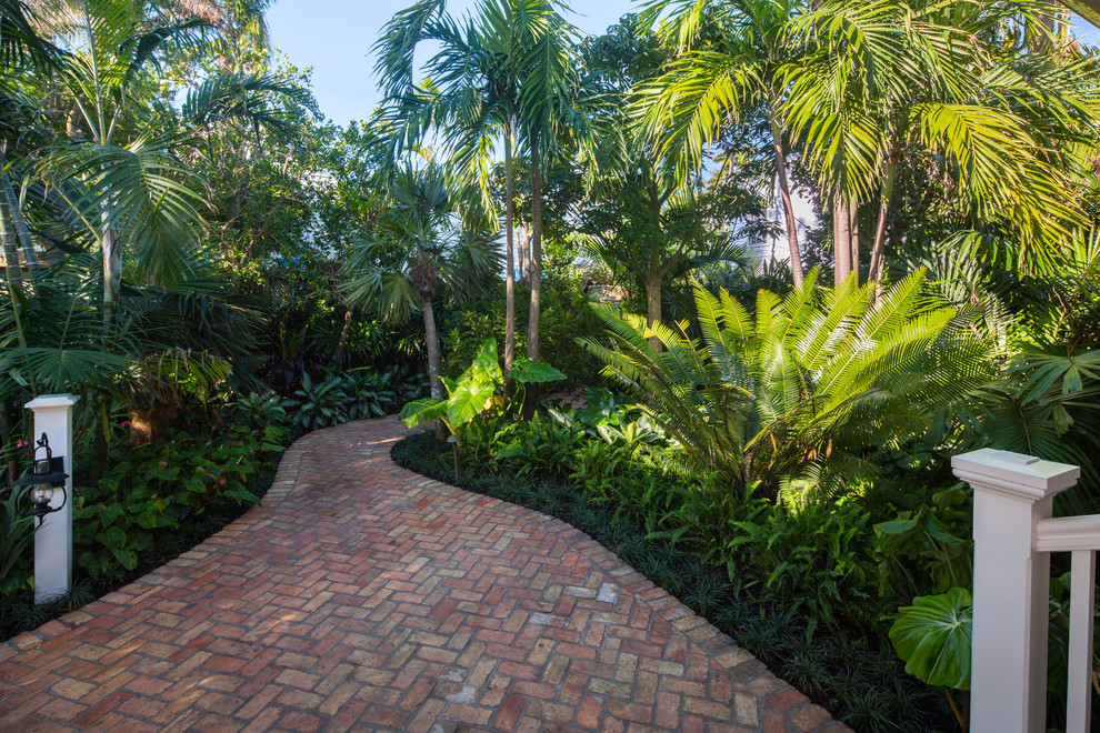 15 Stunning Tropical Landscape Designs That Know How To ... on Tropical Backyard  id=33028