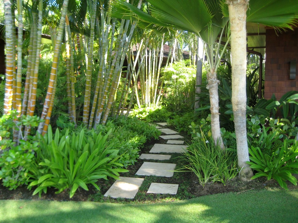 15 Stunning Tropical Landscape Designs That Know How To ... on Tropical Small Backyard Ideas id=73925