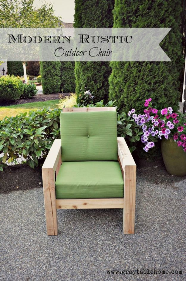 15 Absolutely Cool Diy Outdoor Furniture Projects You