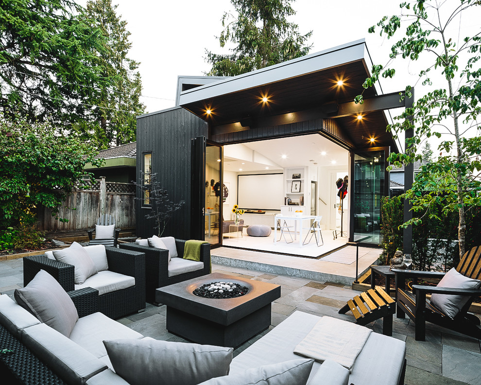 16 Beautiful Scandinavian Patio Designs That Fit Any ... on Backyard Exterior Design id=66085