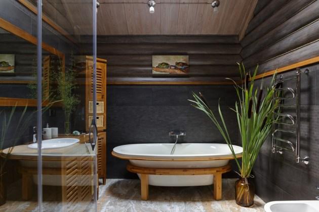 17 Wonderful Farmhouse Bathroom Designs Youll Adore