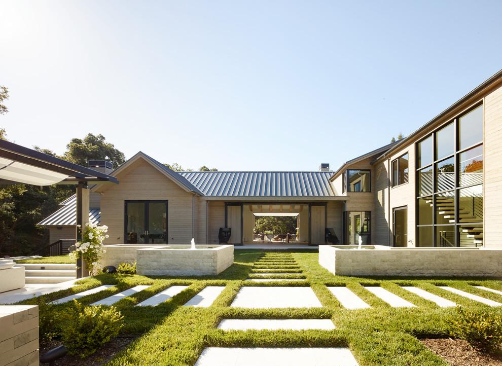 18 Breathtaking Farmhouse Landscape Designs You'll Wish To ... on Farmhouse Yard Ideas id=90574
