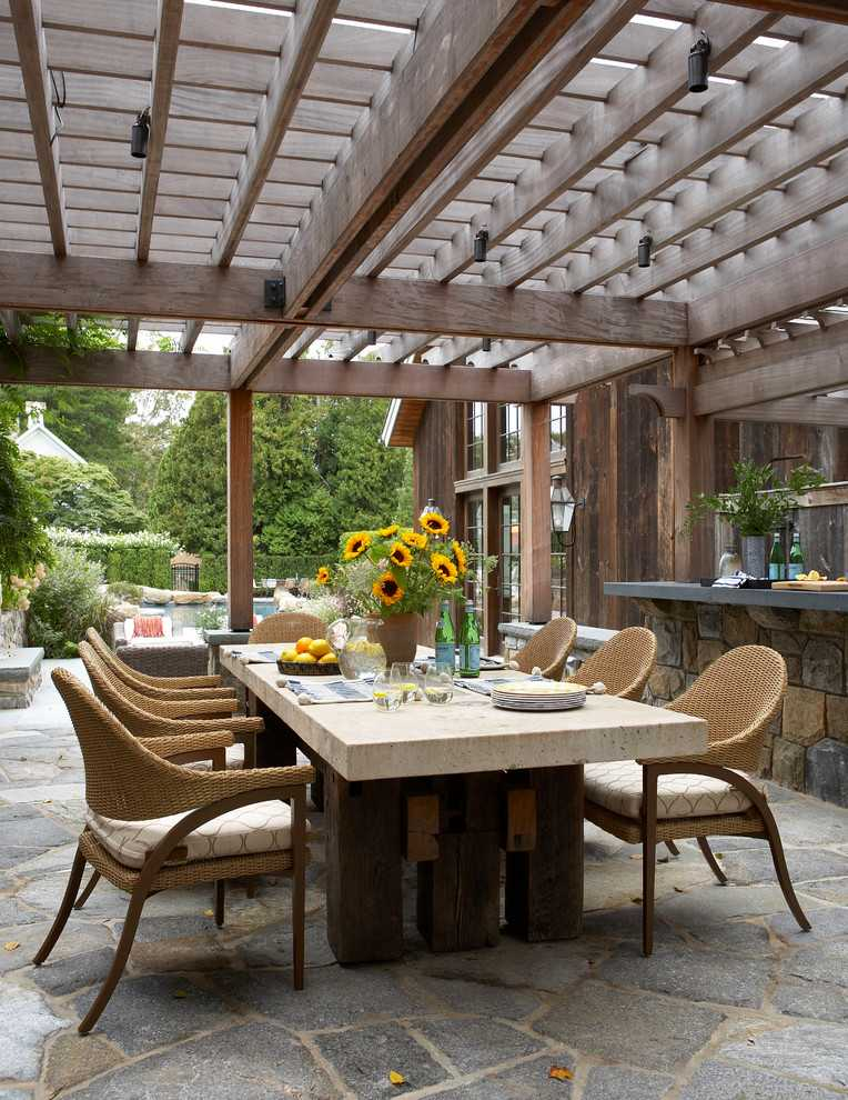 17 Dazzling Farmhouse Patio Designs You Need On Your Deck on Patios Designs  id=26903