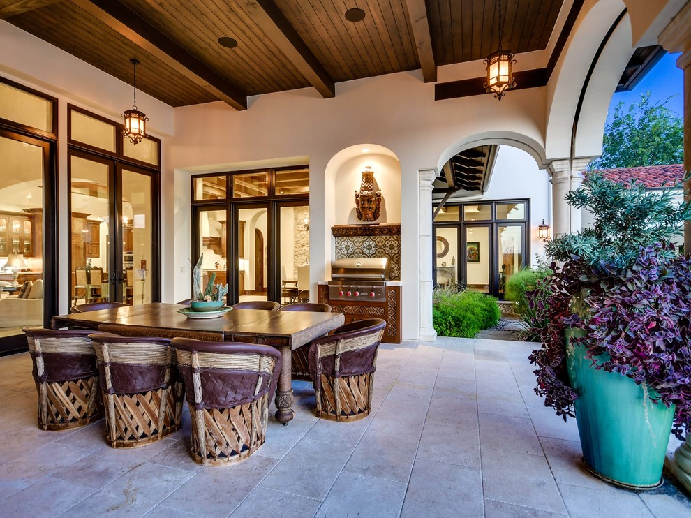 15 Jaw-Dropping Mediterranean Patio Designs That Will Take ... on Patios Designs  id=39136