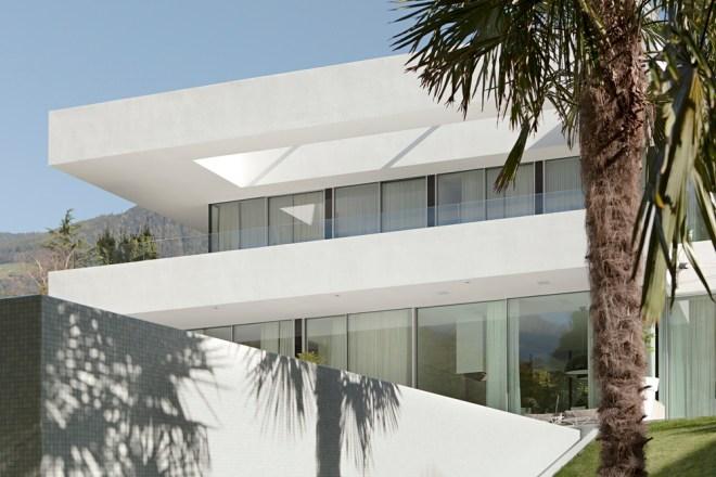 White facade of House M