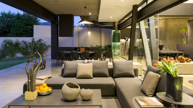 Living room furniture in Kloof Road House