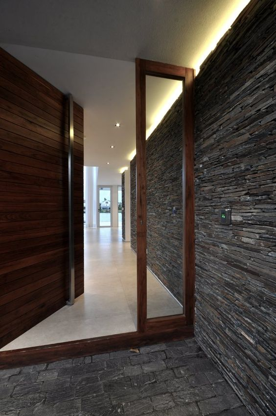 Door designs: 40 modern doors perfect for every home ... on Modern Entrance Design  id=92487