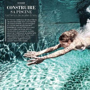 Article : Construire sa Piscine