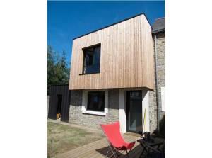 rénovation d'une maison bois classique à Vannes