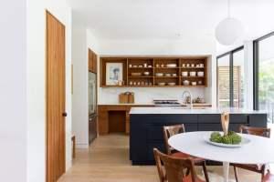 aménagement intérieur d'une maison bois moderne
