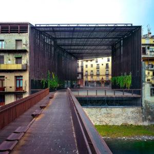 La Lira Theater Public Open Space, 2011, Ripoll, Girona, Spain In collaboration with J. Puigcorbé  Photo by Hisao Suzuki