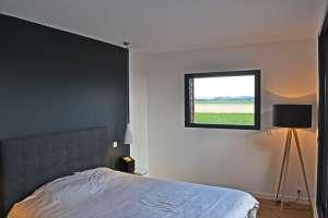 aménagement intérieur d'une maison bois moderne à la Rochelle