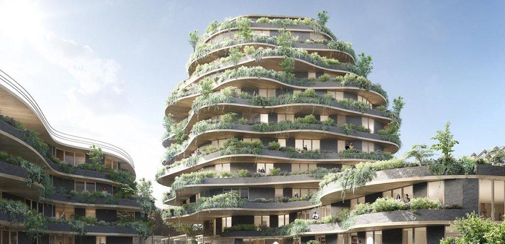 les bâtiments clt sont très demandés et écologique