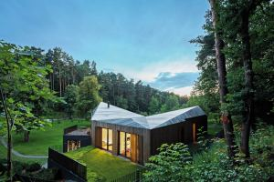 maison bois en lituanie