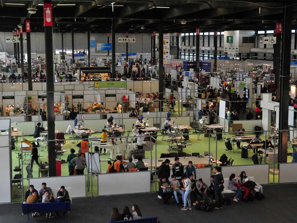 Olympiades des métiers : les finales nationales 2017 de Bordeaux ©WorldSkillsFR