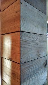 bardage en bois traités et non traités