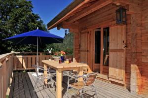 terrasse d'une maison bois