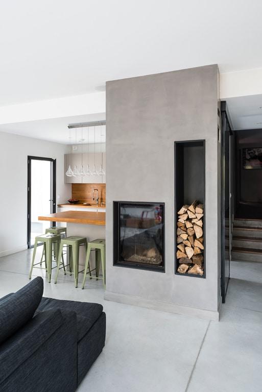 Maison et grange contemporaine en bois - Echome