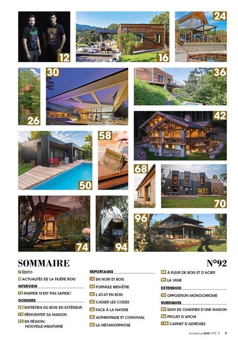 Architecture Bois n°92