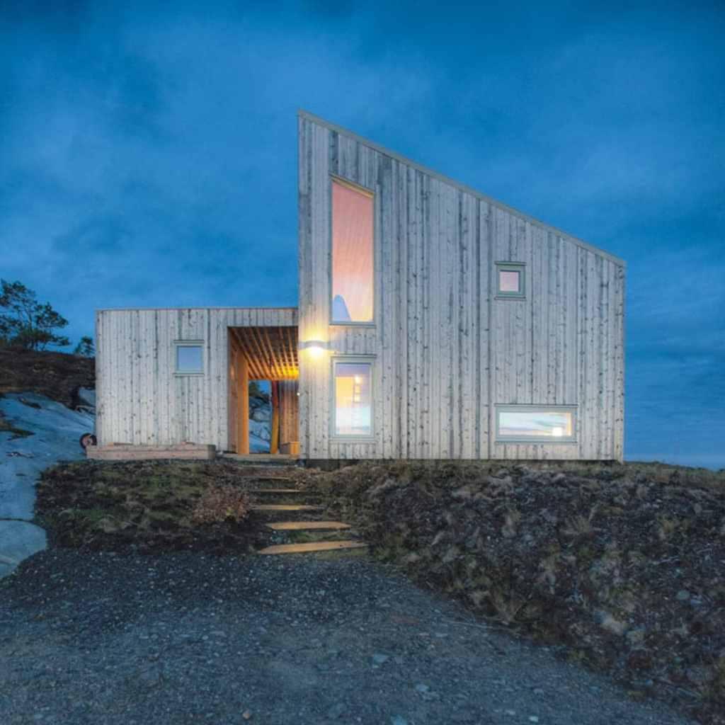 Chalet argenté Norvège