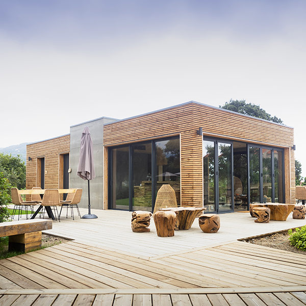 Hôtel écologique en bois Casa Legna - Kallistyle