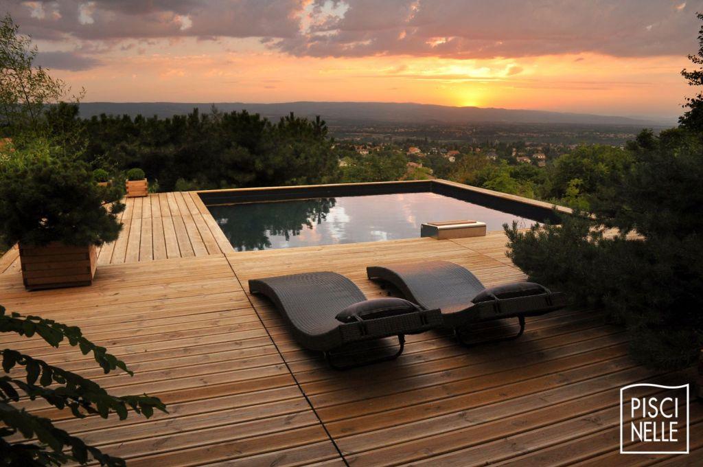 piscine en bois