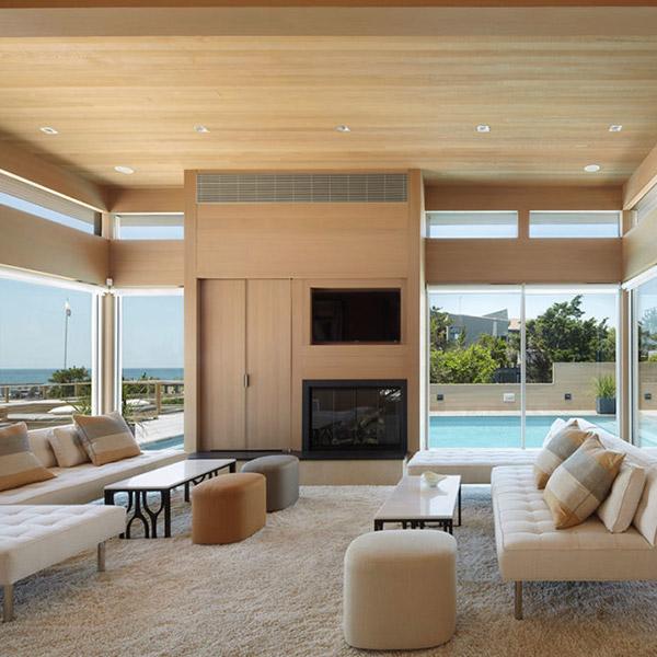 Maison de plage en bois - Bromley Caldari Architects