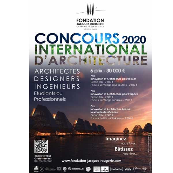 Concours fondation Jacques Rougerie