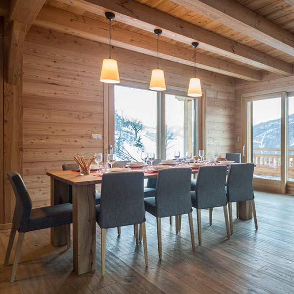 Chalet bois le Belvédère dans les Hautes-Alpes